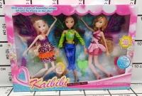 Куклы Феи 3 шт. в короб.