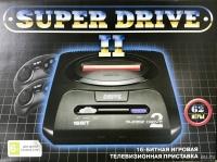16bit Сега Super Drive 2 Classic (62-in-1) Black.