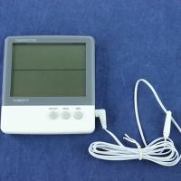 INBLOOM Термометр электронный 2 режима, с уличным датчиком, пластик, 10,8x10см, HTC-3 473-014