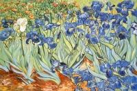 Ирисы (худ. Ван Гог) Картина 40х50