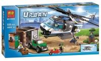 URBAN 410 дет. конструктор Полицейский транспортировщик вертолета