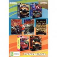 Картридж 16 бит 7 в 1 A-704 World of Tanks /  Танки 2011 / МАРИО + ТАНЧИКИ / Battle Tank+