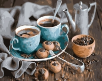 Кофейная пара Картина 40х50