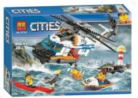 Аналог Lego 60166, Bela 10754 Сверхмощный спасательный вертолёт 439 ltn