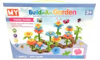 Конструктор для малышей цветочки 54 дет. 7054/MY-7054
