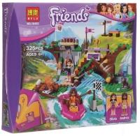 Friends 325 дет. конструктор френдз Спортивный лагерь: сплав по реке