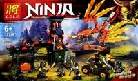 Конструктор Ninja Нападение красного дракона 31138 Аналог LEGO Ninjago 593 дет
