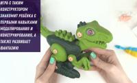 Конструктор с отверткой динозавр DINOSAUR 1020 Y