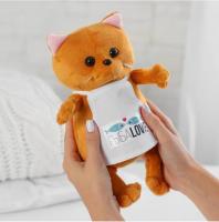Мягкая игрушка «Кот Бисквит», повар