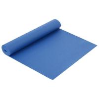 Коврик для йоги 173 × 61 × 0,5 см, цвет тёмно-синий