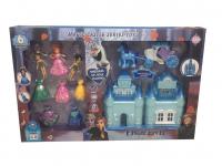 Кукла Холод Домик с куклами и платьями 6604A-1