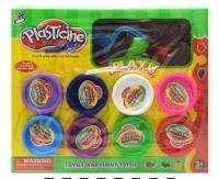 Набор пластилина с формосками 8 цветов 9203