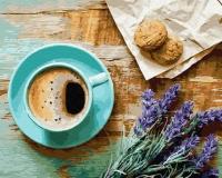 Лавандовый завтрак Картина 40х50