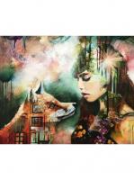 Лисица и девушка GX 23415 Картина 40х50