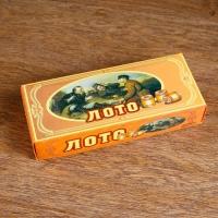 """Русское лото """"Охотники на привале"""", 24х10 см 513256"""