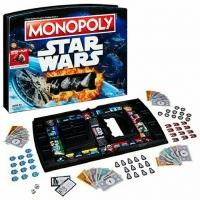 Монополия Звездные Воины с фигурками
