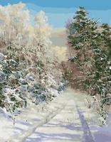 Морозное Утро Картина 40х50
