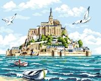 Морская крепость Картина 40х50