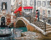 Мост влюбленных Картина 40х50