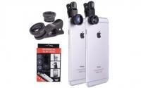 Набор линз для телефона Universal Clip Lens (Фишай)