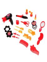 Набор парикмахера «Модный образ», красный, 19 предметов, МИКС