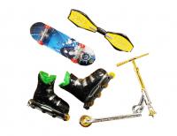 Набор для пальцев (скейт, самокат, ролики)STREET SESH фингер