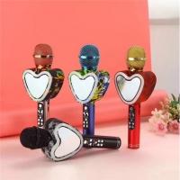 Светящийся караоке-микрофон в форме сердца