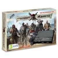 "Sega - Dendy 16bit - 8bit ""Hamy 4"" (350-in-1) Assasincred Black Хами 4"