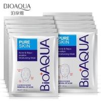 Увлажняющая тканевая маска для лица с эффектом удаления дефектов кожи Bioaqua
