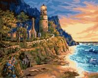 Прибрежный маяк Картина 40х50