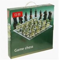 """Игра """"Пьяные шахматы"""", 32 рюмки, поле 25х25 см, микс 425963"""