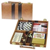 Набор игр 6 в 1 шахматы шашки домино нарды 341 137