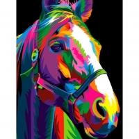 Радужный конь Картина 40х50
