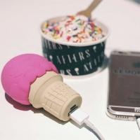 Внешний Аккумулятор Power Bank Food 8800 mAh (Мороженное) еда