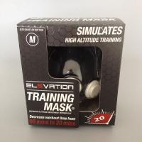 Тренинг маска в коробке с серийным номером и голограммой 1.0
