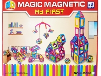 Магнитный конструктор MAGIC MAGNETIC 54 детали