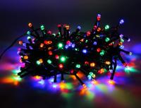Гирлянда 180 ламп разноцветная