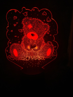 Светильник 3D ассортимент