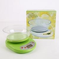 Кухонные весы электронные до 5 кг, с чашей, КЕ-1. LY-90