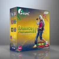Танцевально-игровой коврик ASPEL Dance Perfomance II ТВ/ПК (32 бита)