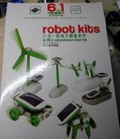 Конструктор на солнечной батареи robot kits 6 в 1