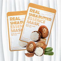 Тканевая маска для лица FarmStay с маслом ши 5205972