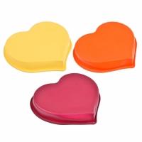 "VETTA Форма силиконовая 25x22x4,5см, ""Сердце"", 3 цвета, HS-011"