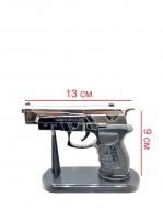 Зажигалка пистолет c подставкой Газовая HL 3184