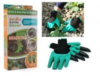 Садовые перчатки с когтями Garden Genie Gloves огород