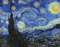 Звездная ночь. Ванг Гог Картина 40х50